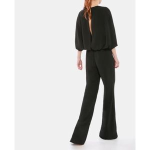 MISHA COLLECTION Pants - MISHA COLLECTION 'Olympia' Cape Sleeve Jumpsuit.